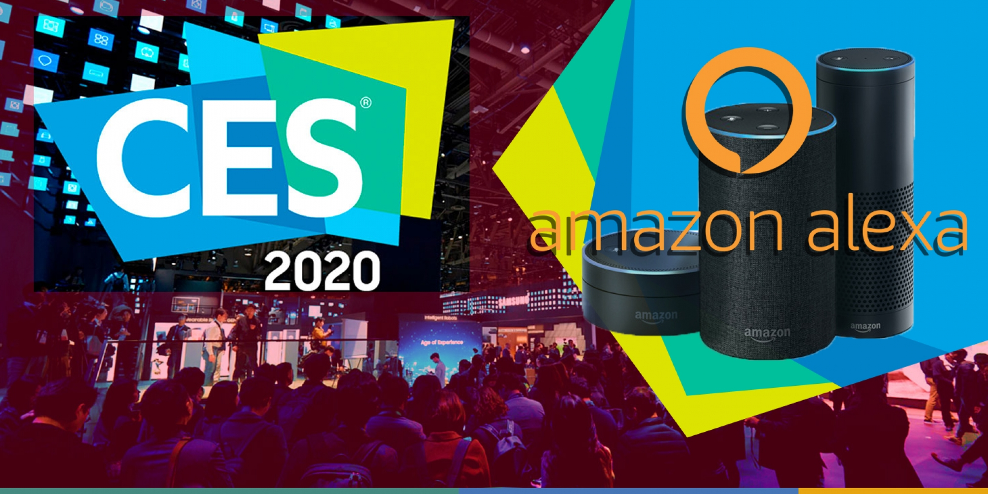 Amazon was the company with the largest presence at CES 2020 with Alexa